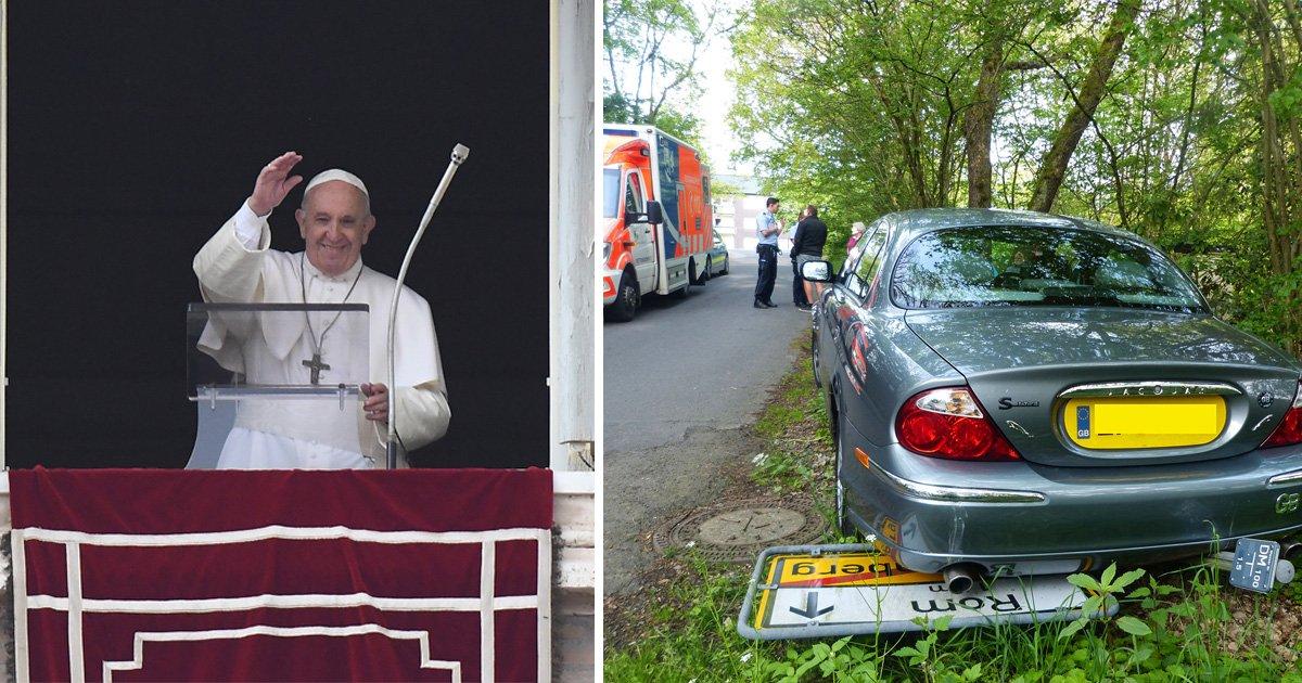 Pensioner sets Sat Nav for Rome… but ends up in Germany