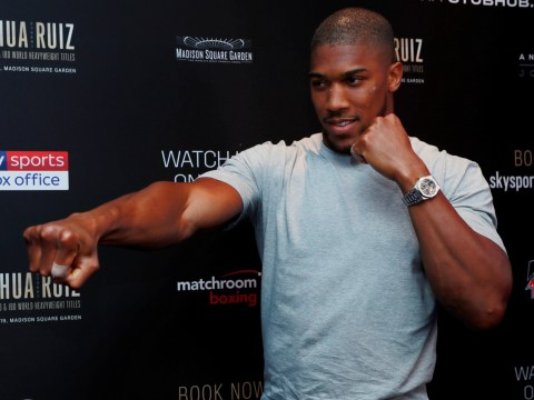 Anthony Joshua respects Deontay Wilder's decision not to attend Andy Ruiz fight