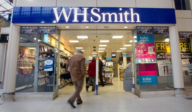 WH Smith in London. WHSmith has once again been voted the UK's worst high street shop in an annual survey