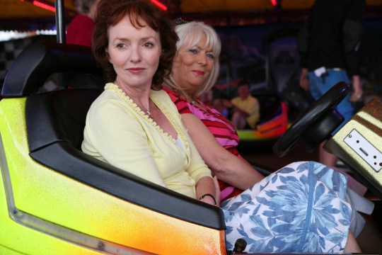 Gavin and Stacey stars Melanie Walters and Alison Steadman