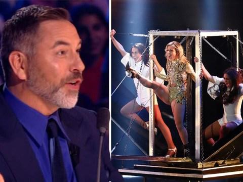 David Walliams 'feels like a woman' after watching Angels Inc on Britain's Got Talent