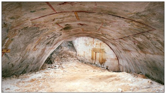 """METRO GRAB FACEBOOK Hidden underground chamber discovered near the palace of Emperor Nero Archaeological Park of the Colosseum May 8 at 8:20 pm ?? ??? THE SPHINX HALL ??? Small and solitary while observing an imaginary architecture, hidden under the ground for twenty centuries. It is the sphinx painted on one of the walls of the Domus Aurea discovered during the restoration work on Nero's large residence on the Oppio Hill. """"The discovery of this room is part of the scientific research strategy that the Park carries out every day together with the interventions for securing and restoring - explained Alfonsina Russo, director of the Archaeological Park of the Colosseum - remained in darkness for almost twenty centuries , the Sala della Sfinge, as we have called it, tells us about the atmosphere of the years of the principality of Nero ???. Continue to follow us to discover videos and unpublished photos of the environment: the Communication Service, relations with the public, the press, social networks and special projects of the Park has created special contents that will be published during the MuseumWeek that will begin next Monday! https://www.facebook.com/parcocolosseo/posts/2451473981751508"""