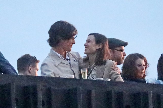 Alexa Chung is spotted kissing and cuddling new man at All Point East Festival in London