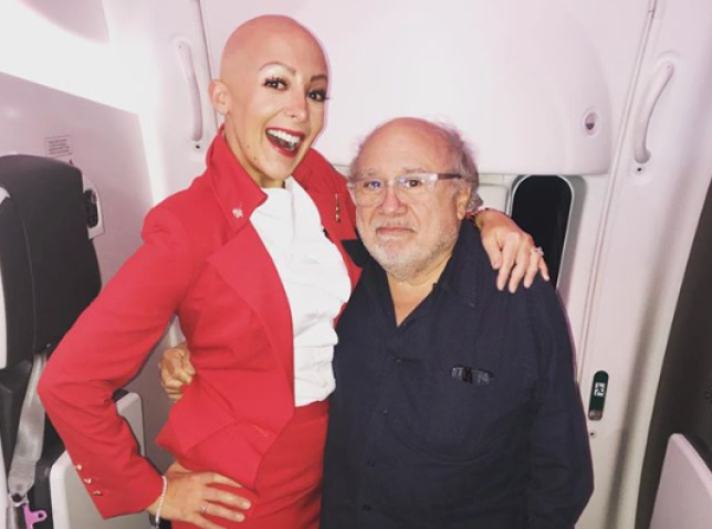 Cabin crew member Rima has alopecia universalis - but she's not letting that hold back her career