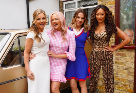 Geri Horner is 'having a blast' at Spice Girls tour rehearsals, so the critics can 'f*** off'