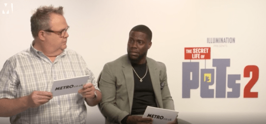Kevin Hart and Eric Stonestreet