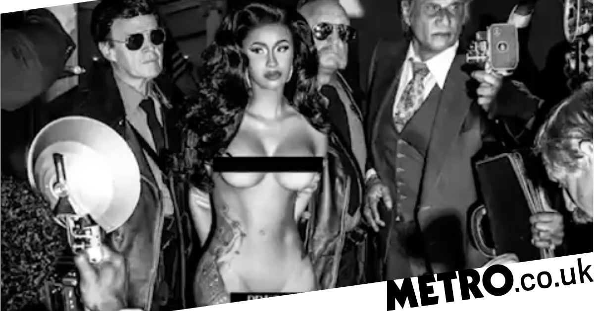 Cardi B Naked On Cover Artwork For Press After Defending Her Lipo