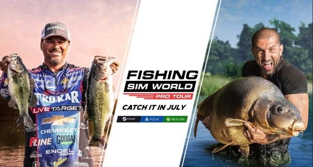 Fishing Sim World: Pro Tour - that's a big fish