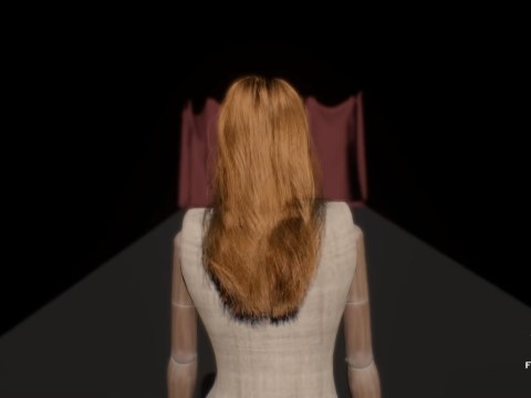 EA shows off next gen Frostbite engine and super realistic hair