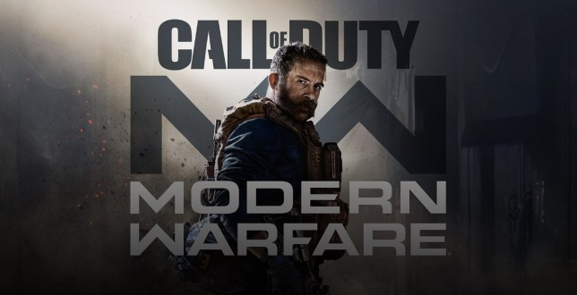Call Of Duty: Modern Warfare key art