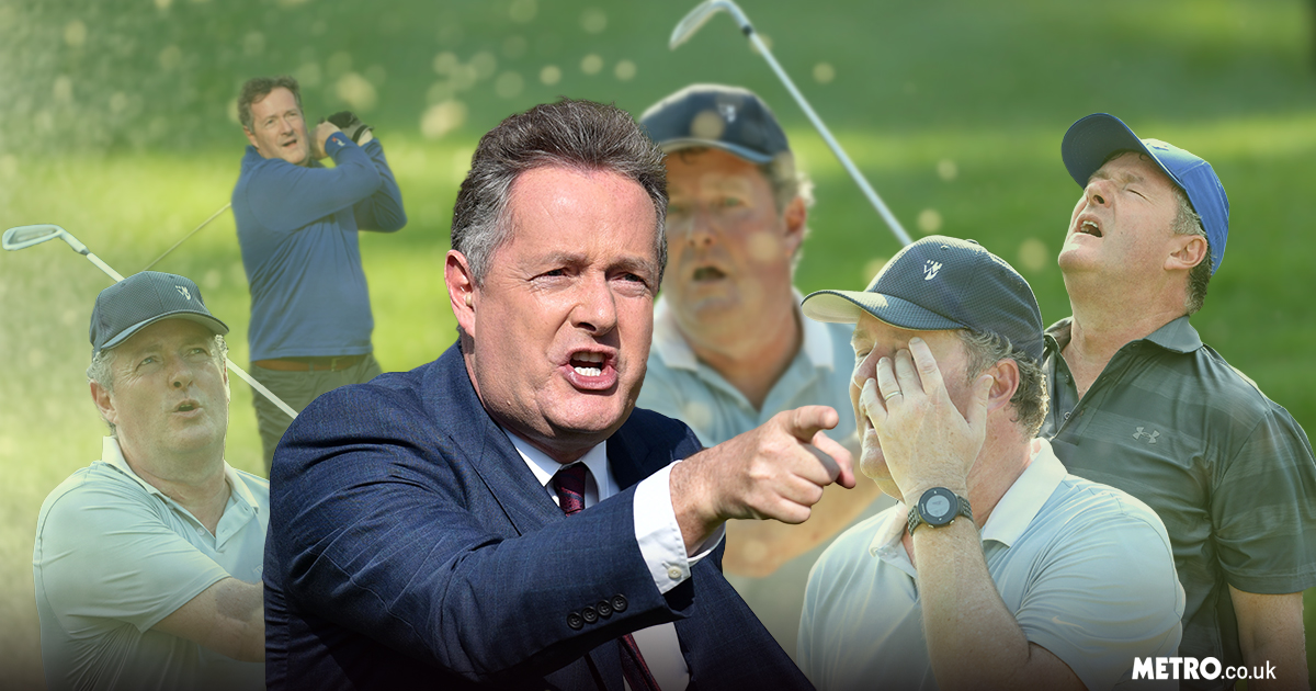 Piers Morgan goes Liam Neeson as he warns thief who stole his golf clubs