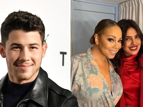 Mariah Carey hangs with Priyanka Chopra backstage at London show thanks to Nick Jonas' sweet surprise