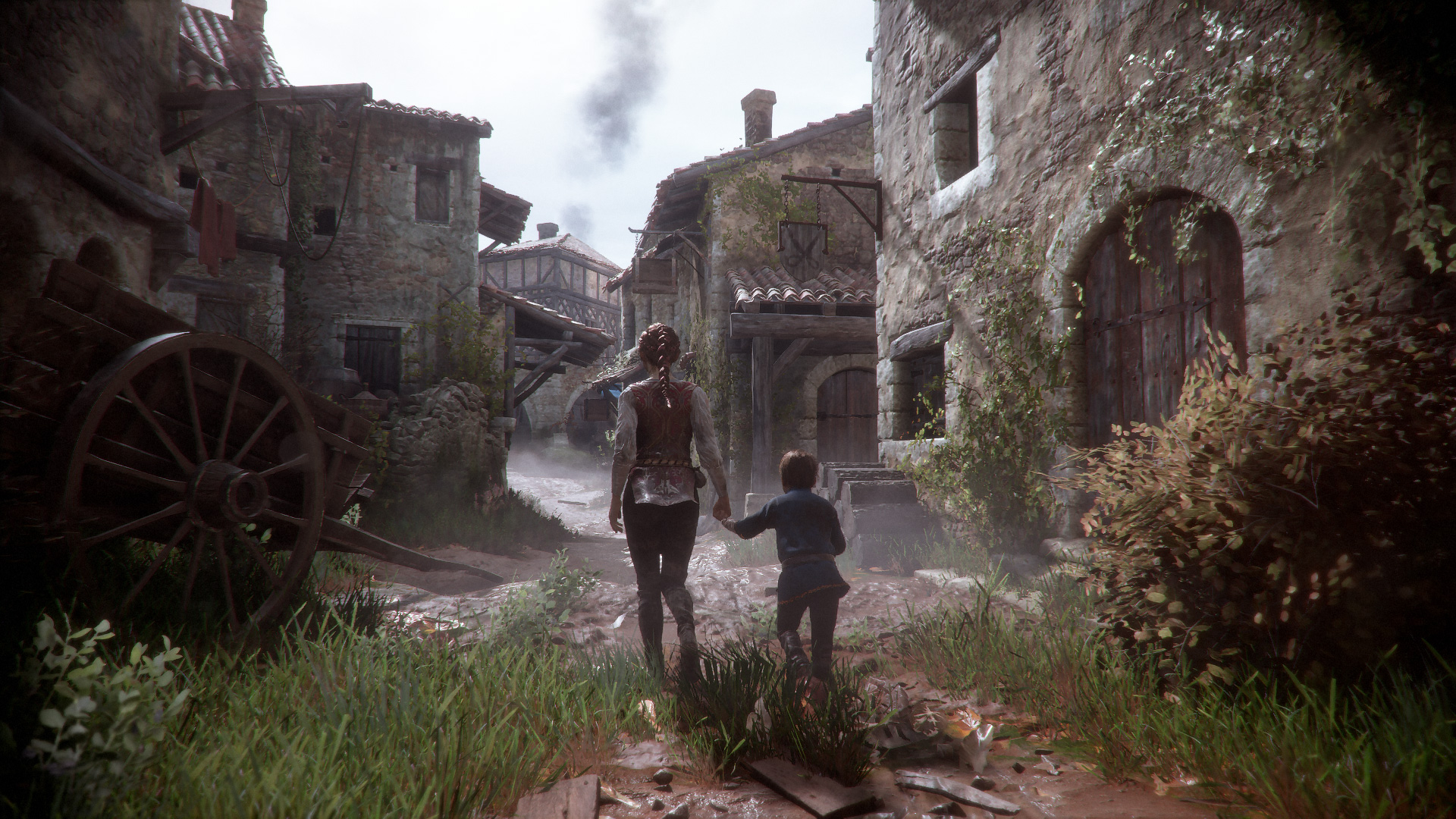 A Plague Tale: Innocence (PS4) - ruin comes to Aquitaine