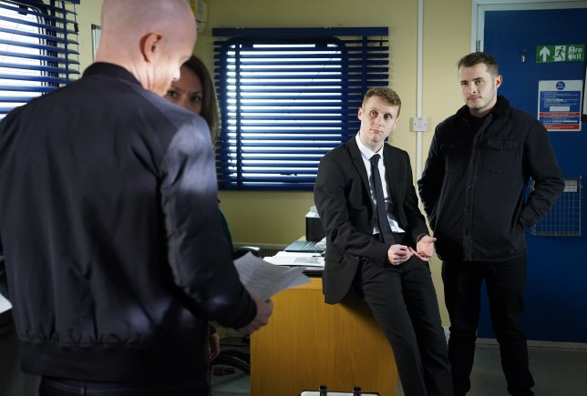 Jay and Ben drop a bombshell on Max Branning in EastEnders