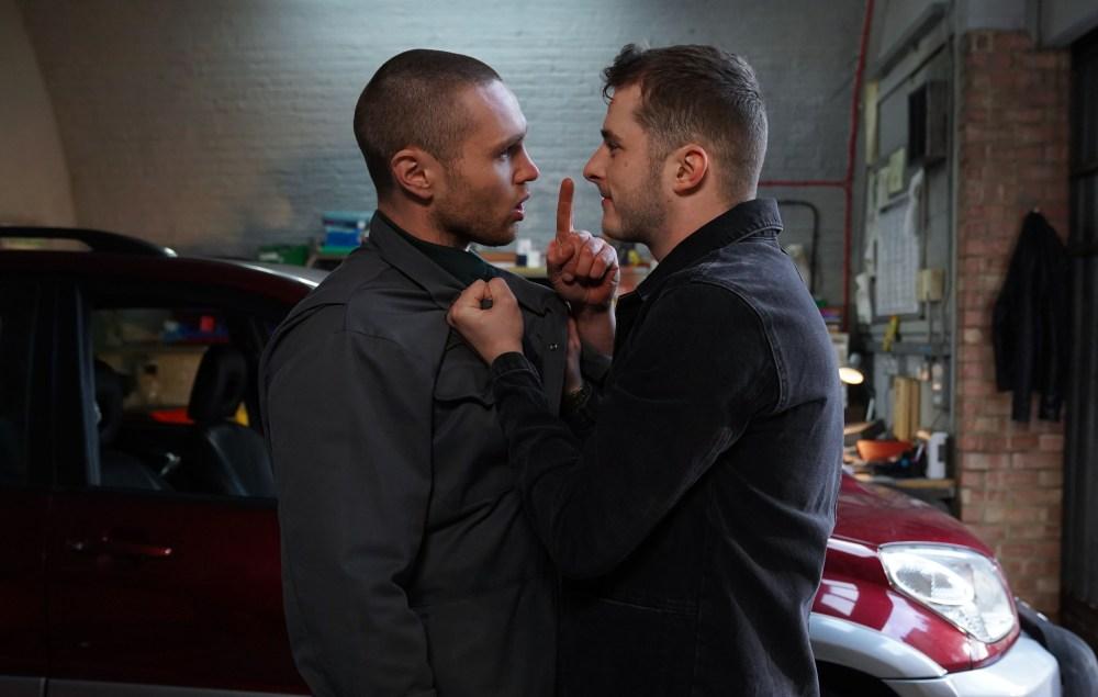 Ben and Keanu clash in EastEnders