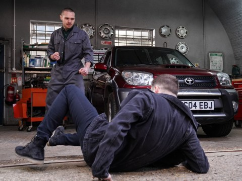 EastEnders spoilers: Keanu Taylor attacks Ben Mitchell in violent showdown