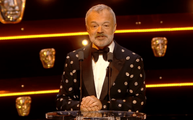 Graham Norton at BAFTA TV Awards