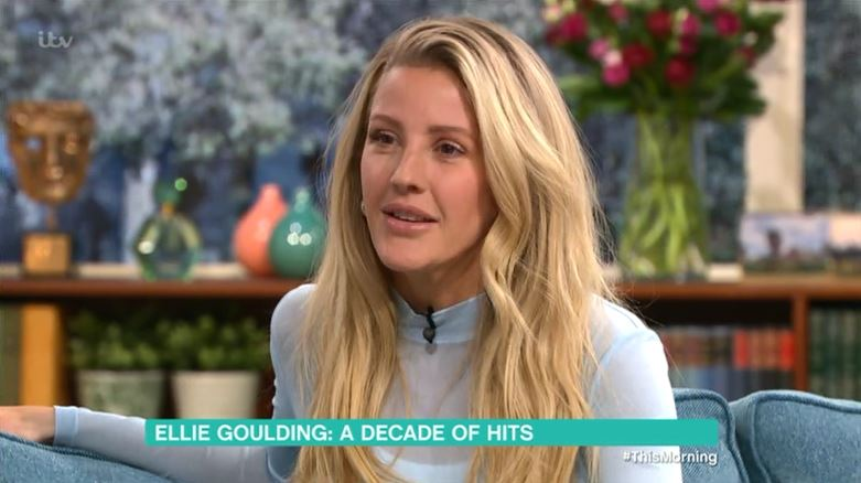 Ellie Goulding on This Morning