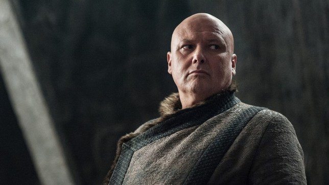 Lord Varys, played by Conleth Hill, in Game Of Thrones