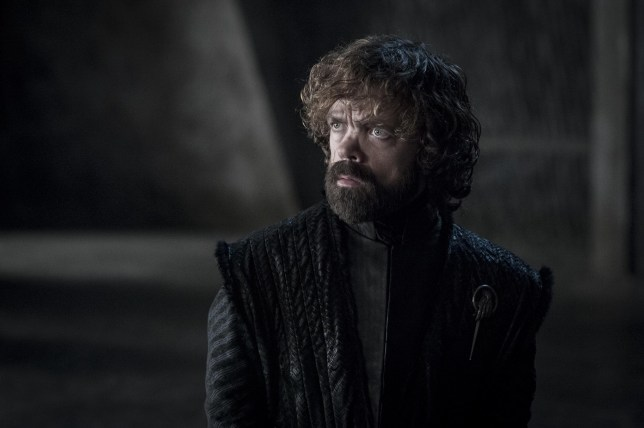 Peter Dinklage as Tyrion Lannister in Game of Thrones season eight episode five