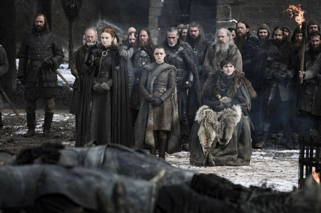 Arya Stark has a black eye in new pictures from Game Of Thrones season 8 episode 4