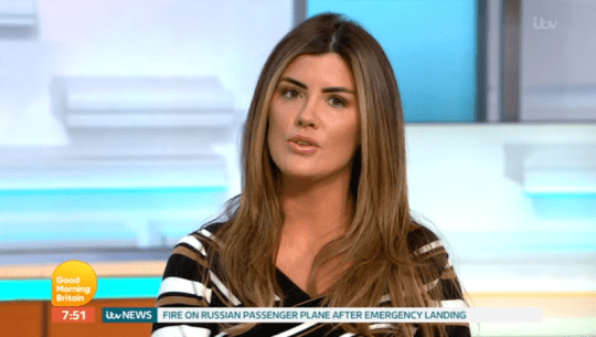 Helen Wood on Good Morning Britain