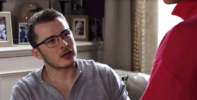 Ben Mitchell (Max Bowden) has a secret lover