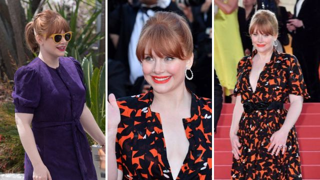 Rocketman star Bryce Dallas Howard refuses to wear anything 'brand new' for Cannes Film Festival