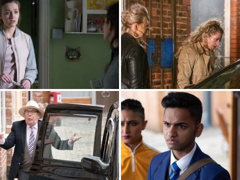 10 soap spoilers: Coronation Street return,  Emmerdale Maya confession,  EastEnders baby bombshell, Hollyoaks racist attack