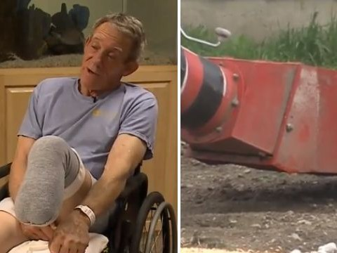 Farmer sawed off his own leg with pocket knife after getting sucked into machinery