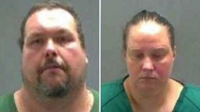 Sadist couple cackled as they forced autistic woman to eat her mother's ashes