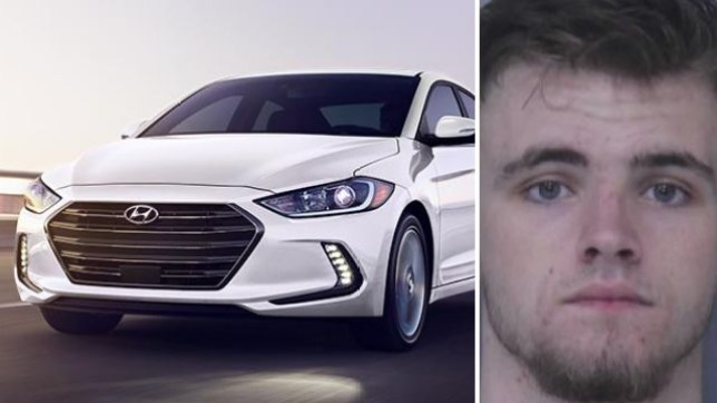 19 year-old Nicholas Jones reportedly fled a cop stop, then dialed 911 to brag sheriff's deputies would never be able to catch him in his Hyundai Elantra