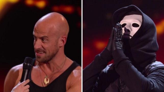 Britains's Got Talent X and jonathan Goodwin