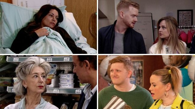 Coronation Street spoilers for Carla, Gary, Sarah, Gemma, Chesney and Dev