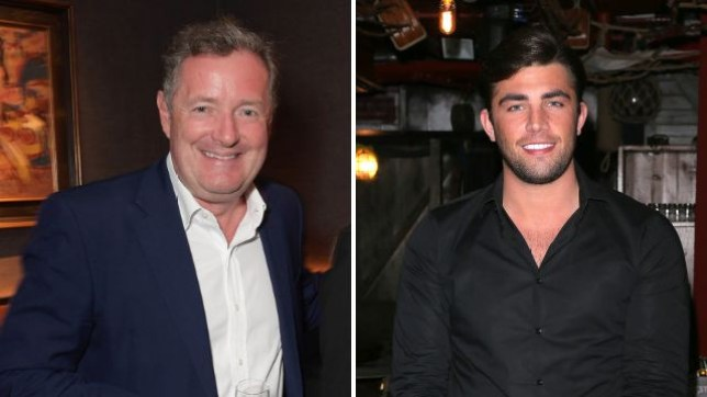 Piers Morgan 'enjoys' cheeky kiss from Jack Fincham during stint on Bradley Walsh's new game show