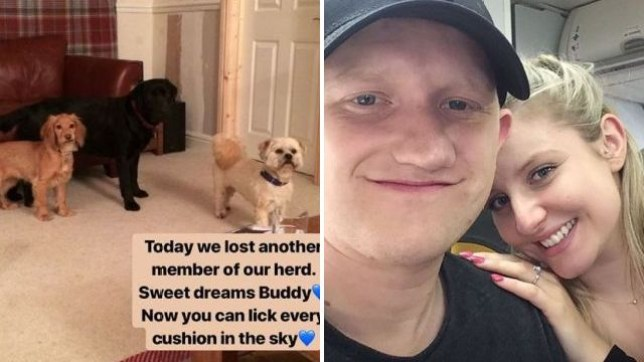 Sam Aston and Briony have revealed their sad loss