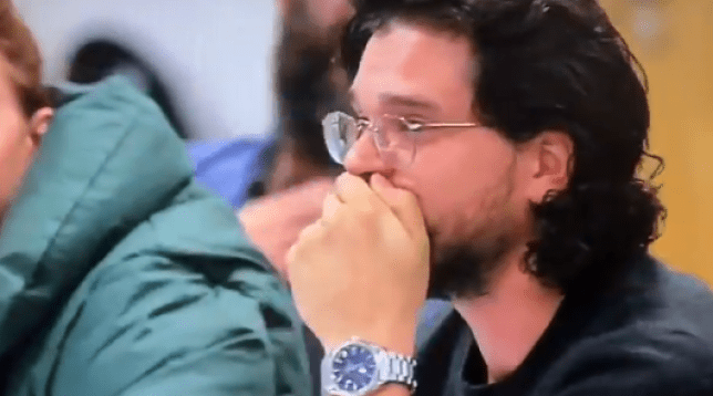 Kit Harington at the Game of Thrones table read
