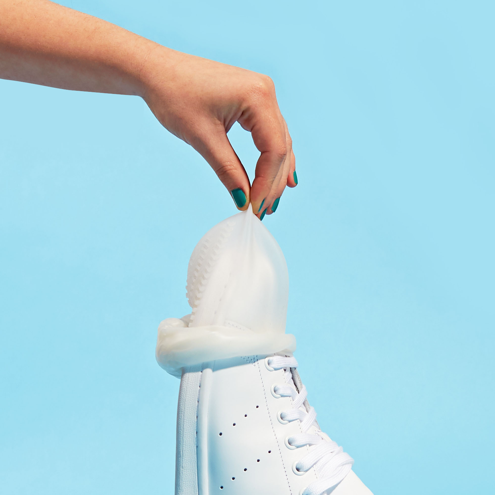 Sneakerheads, rejoice: These shoe condoms will protect your trainers from dirt and grime