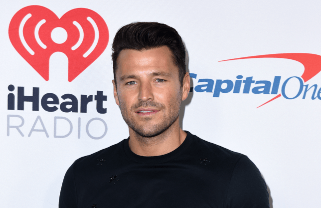 Former Towie star Mark Wright on the red carpet