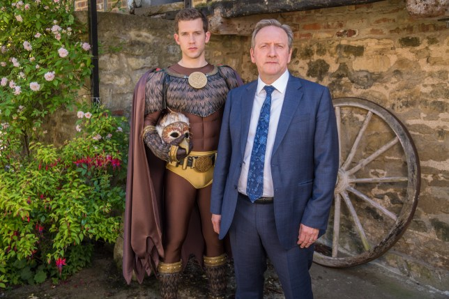 Midsomer Murders Tom Barnaby and Jamie Winter