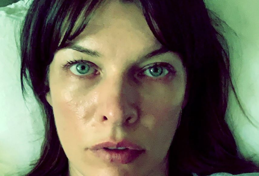 Milla Jovovich shares emotional picture after emergency abortion