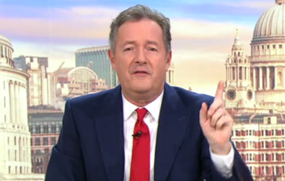 Piers Morgan rips into UK Eurovision act Michael Rice's vocal talents for coming last