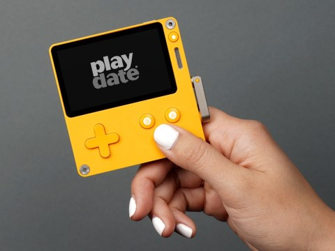 Playdate is a new black & white handheld console with a crank controller