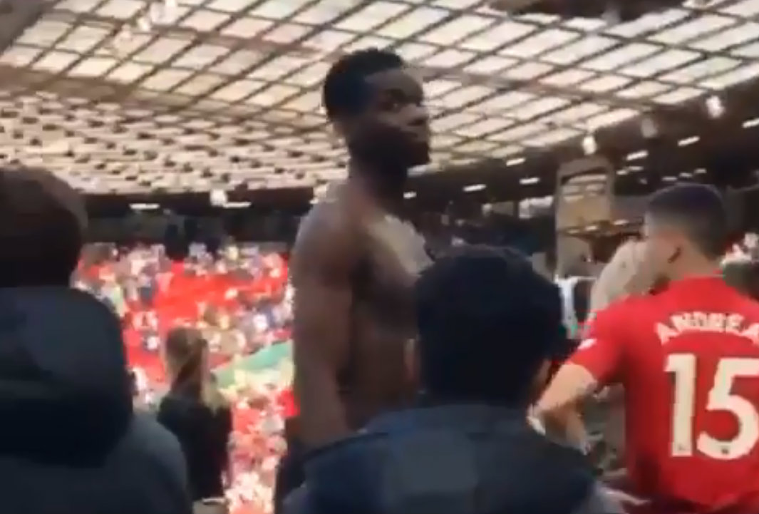 Manchester United legend Lou Macari slams Paul Pogba after altercation with fans at Old Trafford