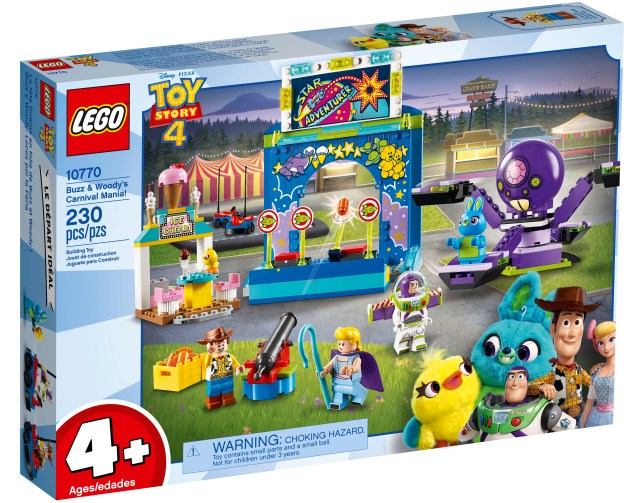 Lego Makes Special Toy Story 4 Sets For Kids As Young As -4460