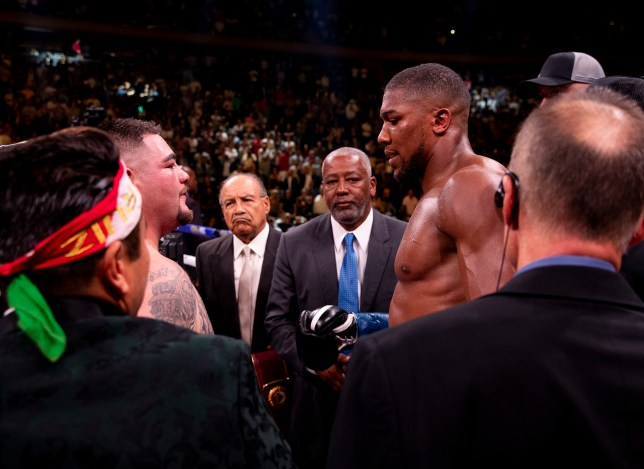 Anthony Joshua announced the rematch last Friday