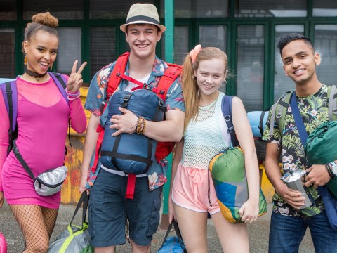 First pictures of Hollyoaks music festival special revealed as Juliet and co. let loose