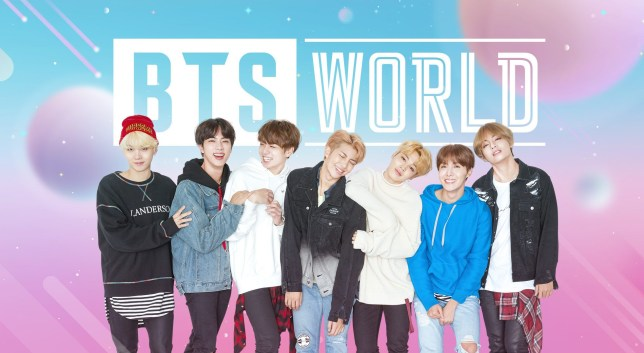 BTS WORLD mobile game