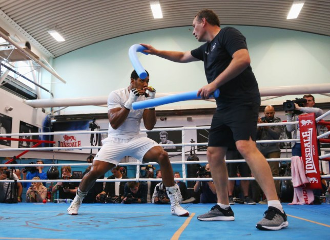 Rob McCracken has trained Anthony Joshua throughout his career