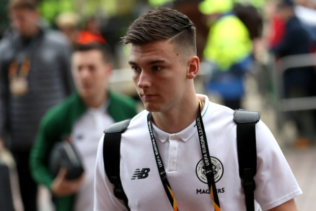 Arsenal are interested in signing Kieran Tierney from Celtic